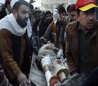 hromedia Suicide bombing kills 26, wounds 45 in northwestern Pakistan intl. news3