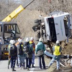 Japan ski tour bus in Nagano crash kills 14, injures 27