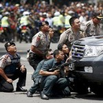 Blasts- gunfight in Indonesian capital, at least six dead