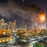 Dubai hotel fire, Inferno at 63-storey Downtown hotel near Burj Khalifa