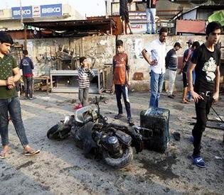 MIDEAST-CRISIS-IRAQ-BOMB