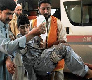 Blast kills 17 as Pakistani Taliban avenge executed Islamist