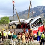 Bus carrying foreign students crashes in Spain, killing 13