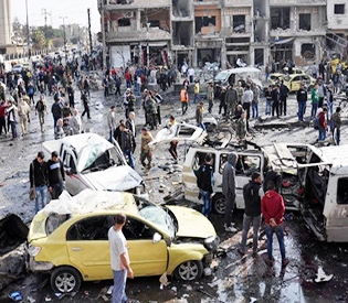 Car bomb kills 18 rebels in southern Syria