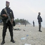 Ivory Coast soldiers patrol beaches after Qaeda attack kills 18