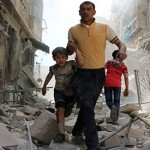 Air strikes on Syria's Aleppo kill 25
