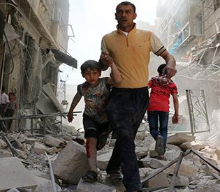 Air strikes on Syria's Aleppo kill 25