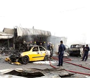 Bomb in eastern Baghdad kills at least 11