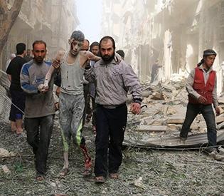 Fierce bombardment in Syria's Aleppo province kills 25