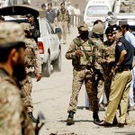 Pakistani security forces kill 12 militants near Afghanistan