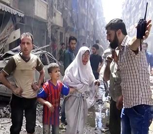 Syria hospital bombing