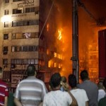 Massive fire in downtown Cairo kills 3, injuries 91
