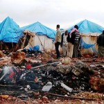 Russian, Syrian officials deny their planes hit refugee camp