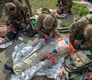Seven Ukrainian soldiers killed in war-torn east