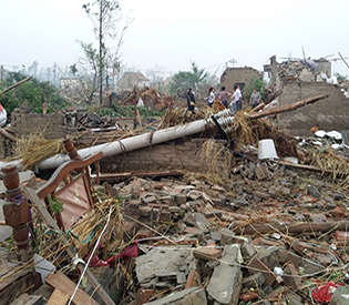78 dead, 500 hurt by storms in eastern China