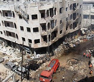 Raids on Syria market kill 21