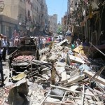 Suicide bombers 'kill 20' outside Syria shrine