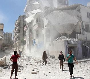 51 civilians dead in bombardment of Syria rebel-held areas