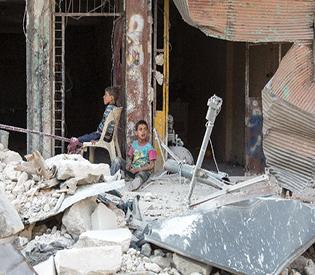 Air raids kill at least 28 civilians in Syria's Aleppo