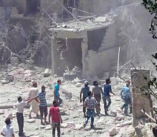 Syrian maternity hospital bombed, says Save the Children