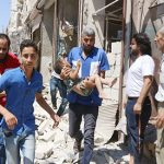Syrians must not be forced out of Aleppo, UN says