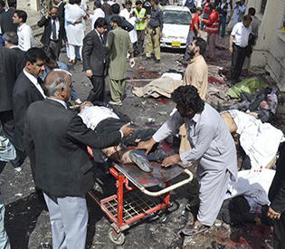 53 killed in bomb attack at hospital in Pakistan 1