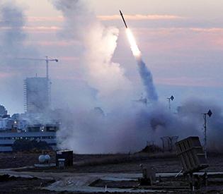 Gaza militant rocket hits Israel