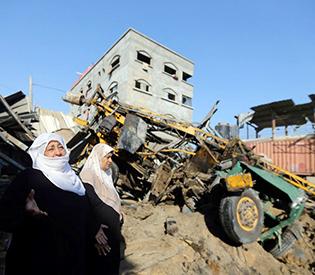 Israel launches 'dozens' of Gaza strikes