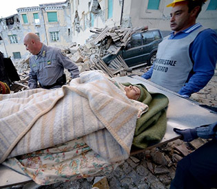 Italian earthquake