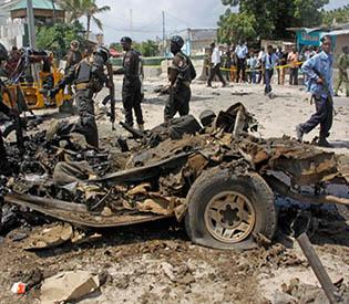 Somalia bombings