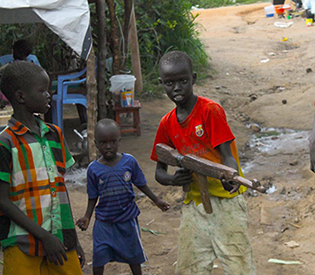 Sudan government recruited child soldiers
