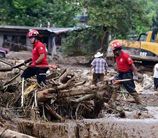 landslides killed 1