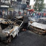 11 dead, 34 injured in triple suicide bombing in Baghdad