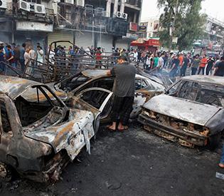 11 dead, 34 injured in triple suicide bombing in Baghdad