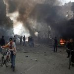 Air raids kill 23 civilians in jihadist-held Syria town- monitor