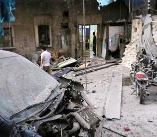 Air strike hits major Aleppo hospital