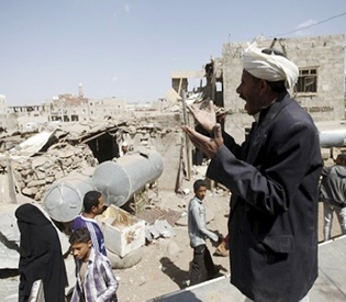 air-strikes-kill-22-civilians-near-yemen-capital
