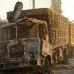 Brutal Assad troops destroy Red Cross aid convoys in Aleppo