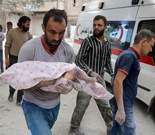 Missiles blast Aleppo as Syria army readies ground assault