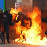 New clashes in France at demos over labour reforms