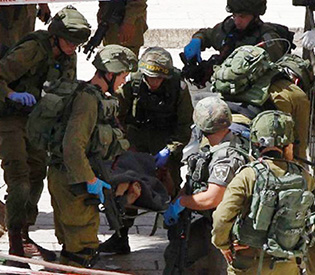 Palestinian tries to stab Israel soldier, shot dead- army