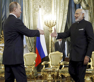 Russia holds separate joint war games with India, Pakistan