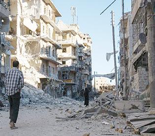 Russia under fire at UN as air strikes pound Syria's Aleppo
