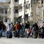 Syrian government sees siege tactics pay off