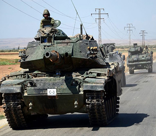 Turkey says 3 of its soldiers killed in IS attack
