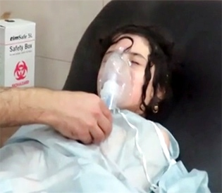 Warplanes dropped chlorine bombs in Aleppo