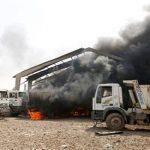 Weapons storage blast fires off bombs on Baghdad, killing four