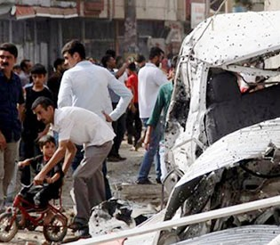 18 killed in PKK car bomb in southeast Turkey- 27 wounded