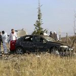 2 bombers blow themselves up after police stop in Turkey
