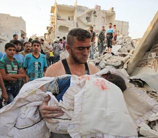 UN call for end to Aleppo 'bloodbath'